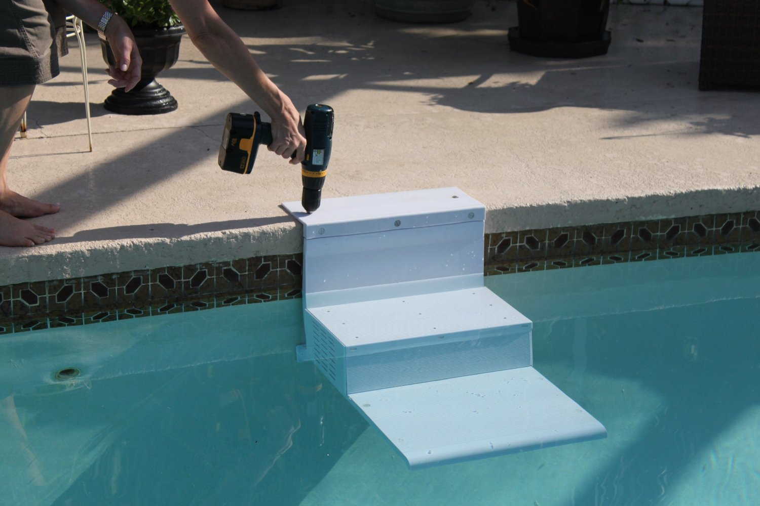 mini inground pools with Give Your Dog A Helping Hand Pool Steps For Dogs Paws Aboard Pool Pup Dog Ladder Steps on Tropical Pool Landscaping Ideas moreover Hot On Instagram Bryana Holly likewise Underground Houses The Ultimate In Off Grid Living in addition 15 Great Small Swimming Pools Ideas in addition The Best Backyard Pools.