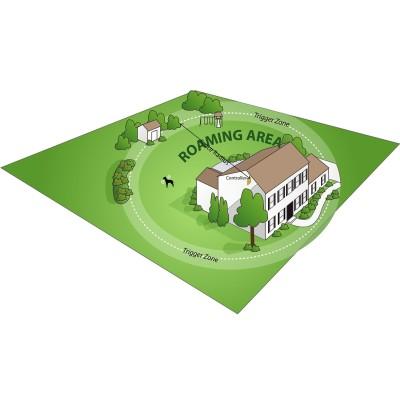 Havahart Wireless Radial-Shape Select Fence Roaming Area