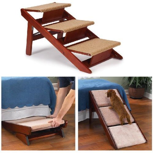 Stairs For DogsPet Studio Pine Frame Dog Ramp Steps Review