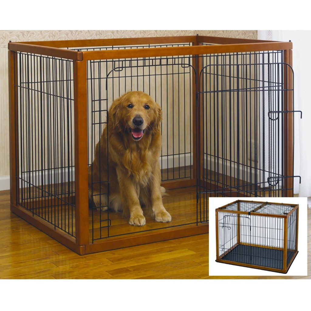 Richell Wood Pet Pen 120-90 Combo