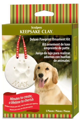 Deluxe Pawprint Ornament Kit